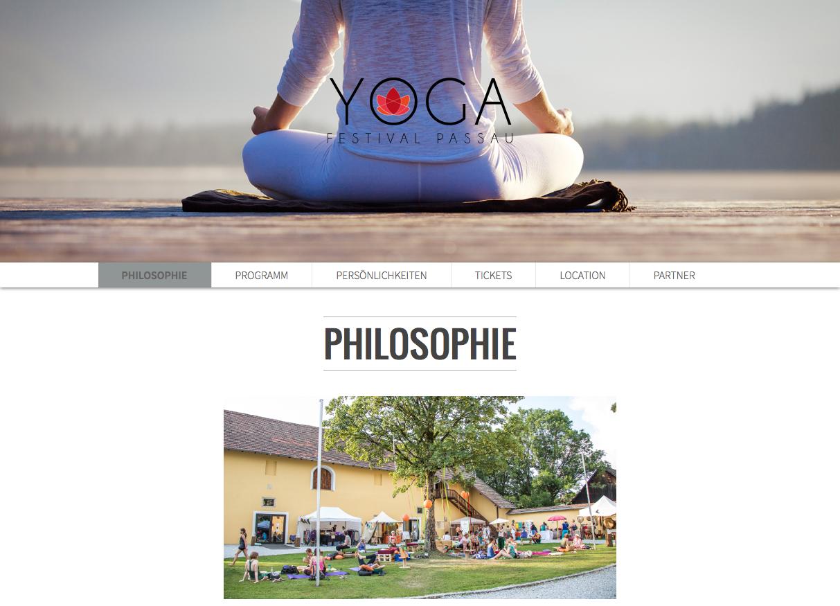 Yogafestival Passau 2016