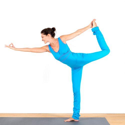 Yogaoverall Yogajumpsuit Jumpsuit türkis pink verschlusslos Baumwolljersey fair regional Niederbayern Yogakleidung Yogapose Tänzer
