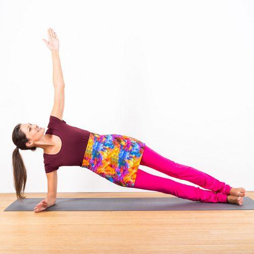 yogatube nierenwärmer cacheur bauchband backwarmer hippie bunt pink lila orange blau gelb Baumwolljersey Yogakleidung
